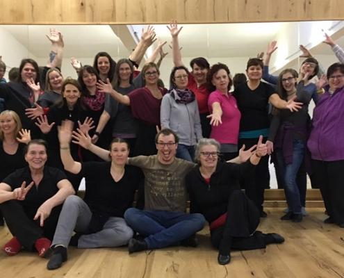 Line Dance Übungsleiter Wochenende UELA9