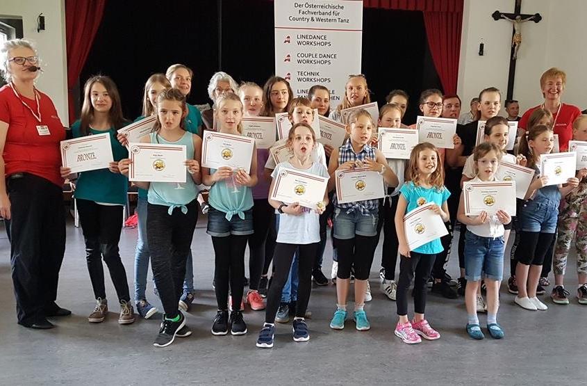 Verleihung Der C&W Tanz Abzeichen   Purkersdorf 2018